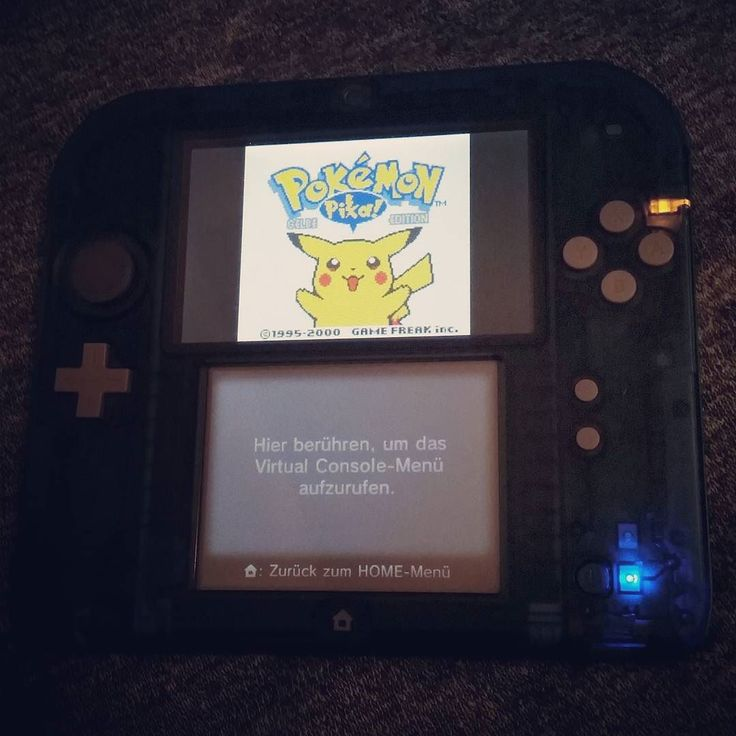 On instagram by tris92 #gameboy #microhobbit (o) http://ift.tt/1LJi3Fv Gelb  60/366 #pokemon #pokemon20 #nintendo2ds #nintendo  #gelb #yellow #edition #game #gaming #play #gamer #retro #instadaily #love #90kids #german #pikachu #fun #young #kid #picoftheday #like #special #forever #sun #moon