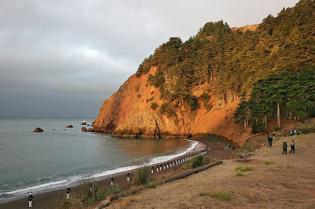 Kirby Cove, California by Rebecca Arnold Photography, via Flickr