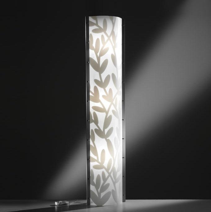 Original Design Light Column / Opalflex®   DAFNE By Nigel Coates   Slamp