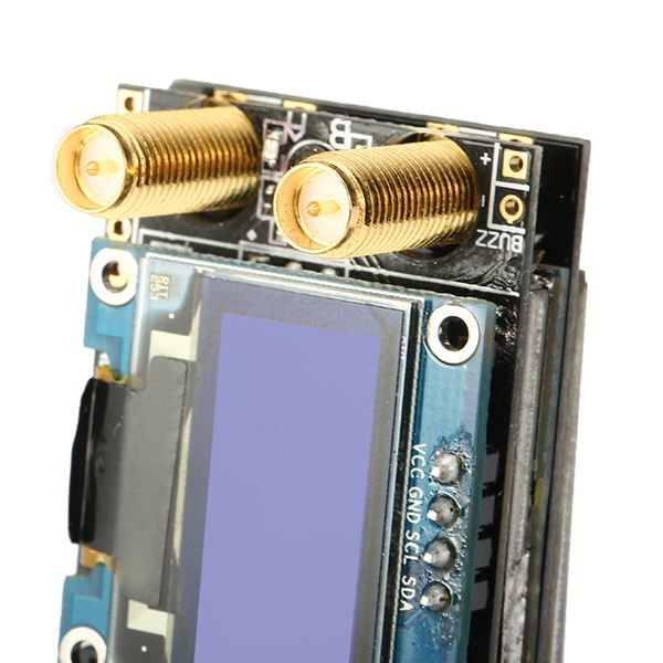 Realacc RX5808 Open Source 5.8G 40CH Integrated Receiver with OLED Special for Fatshark Goggles