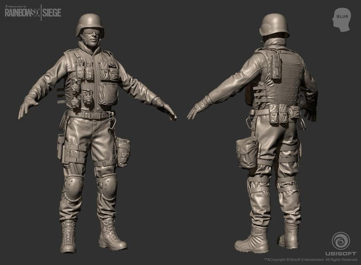 ArtStation - Tom Clancy's Rainbow Six Siege Cinematic SWAT, Mohamed Abdelfatah