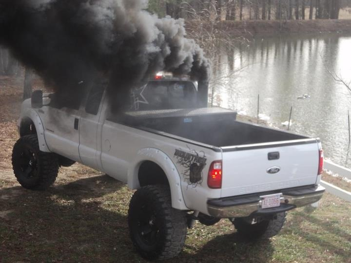 63 best images about Ford rollin coal on Pinterest | Chevy ...