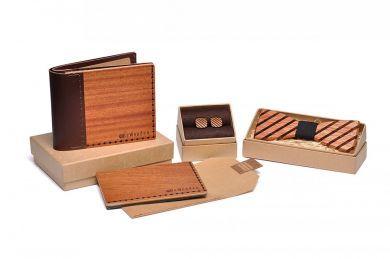 Træ-accessories sæt af Mahogni   Håndlavet af BeWooden   BeWooden Danmark