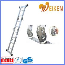 Aluminum multipurpose folding ladder hinge