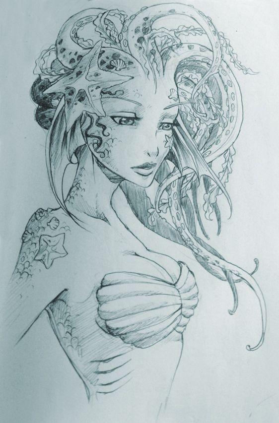 Résultats de recherche d'images pour « mermaid artwork »