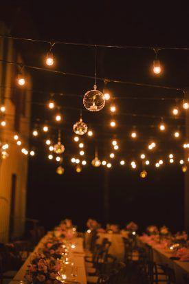 Hanging Candles and Cafe Lights | Overhead Wedding Decor | Rebekah J Murray & 110 best Wedding Lighting Inspiration images on Pinterest ... azcodes.com