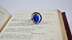Δακτυλίδι με πέτρα τυρκουάζ
