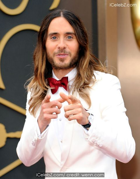Jared Leto   The 86th Annual #Oscars held at Dolby Theatre http://www.icelebz.com/events/the_86th_annual_oscars_held_at_dolby_theatre/photo146.html