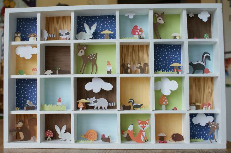 Mini Paper Diorama