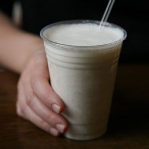 Lassi, the classic sweet-tart, creamy Indian yogurt drink, is perfect for a light, refreshing dessert.