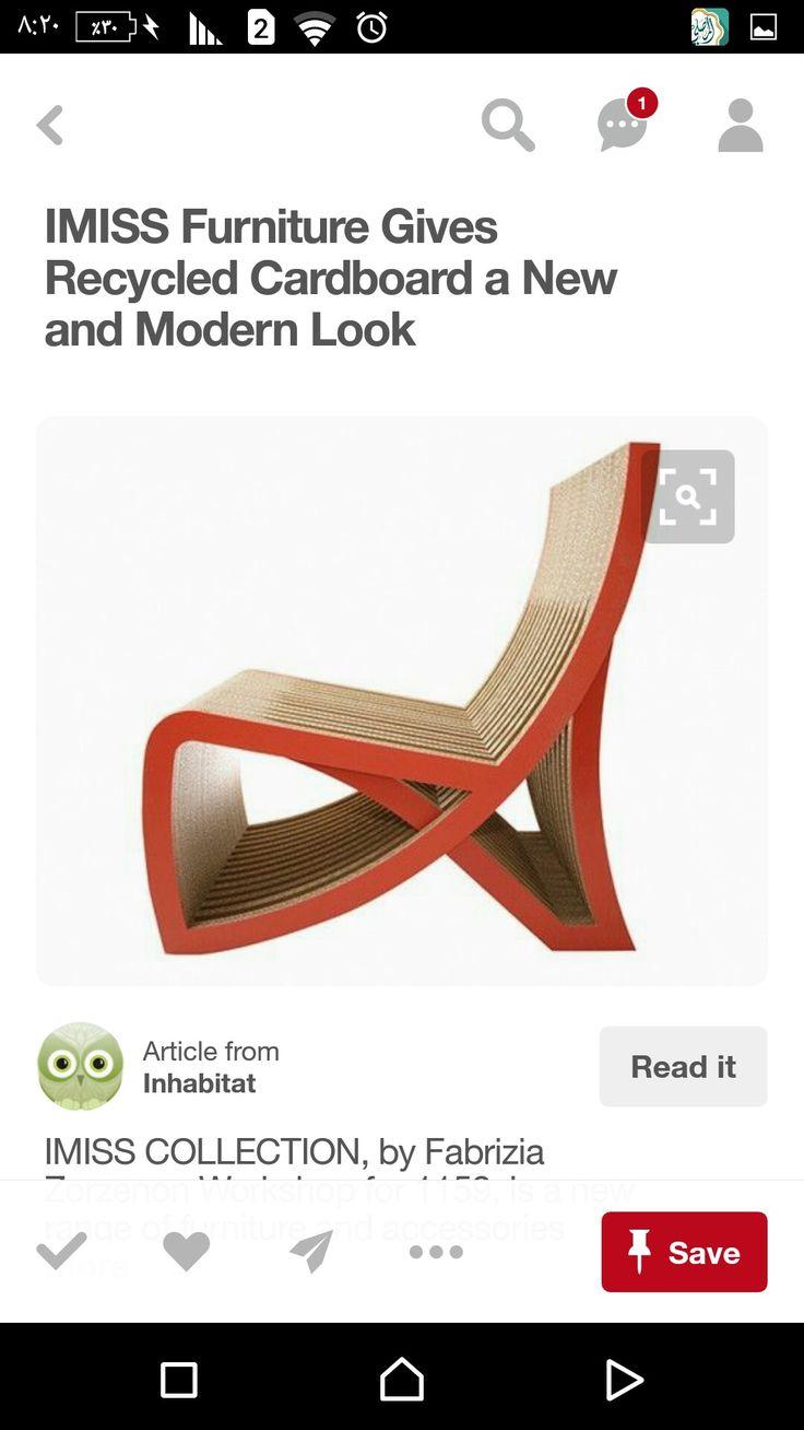 Imiss Chair By Fabrizia Zorzenon.