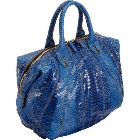 Zagliani Python Small Sofia Bowler Bag at Barneys.com