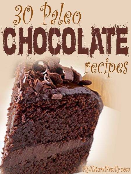 Paleo chocolate recipes