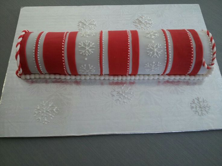 Christmas Log Red Buche Noel