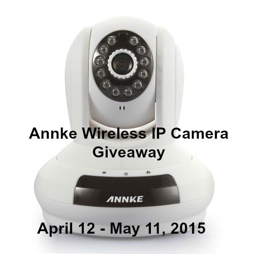 Annke Wireless IP Camera Giveaway  Host - Michigan Saving and More    a Rafflecopter giveaway