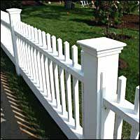 DREAMHOUSE: ett vitt staket