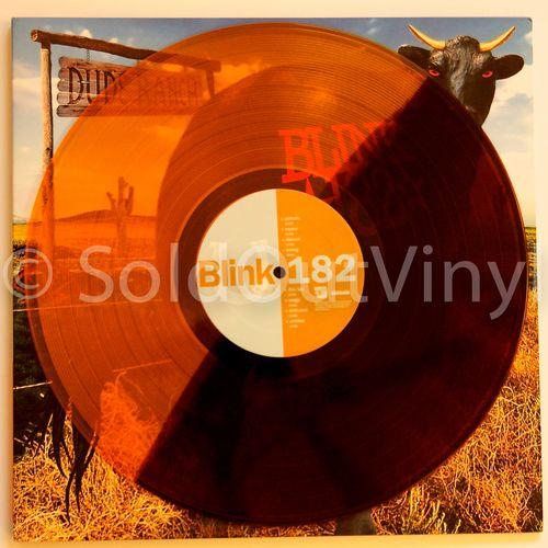 Blink 182 - Dude Ranch Vinyl LP - Half Brown/Half Orange MTS Pressing — SoldOutVinyl