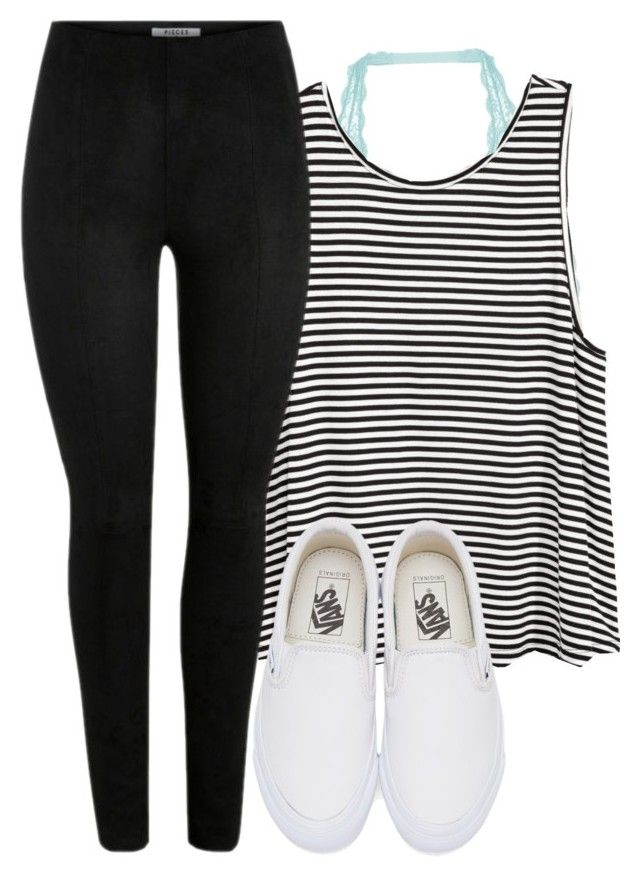 """""""(Lol don't know what to write)"""" by artsycharrr ❤ liked on Polyvore featuring Cosabella, H&M and Vans"""