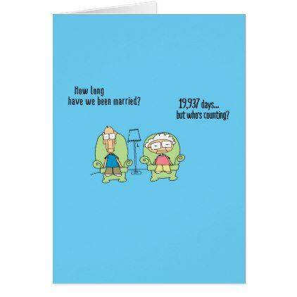 Funny Happy Anniversary Card! Card - baby gifts child new born gift idea diy cyo special unique design