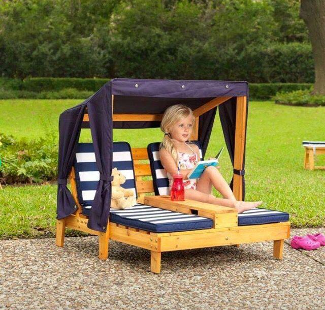 mini-loungeset voor kinderen