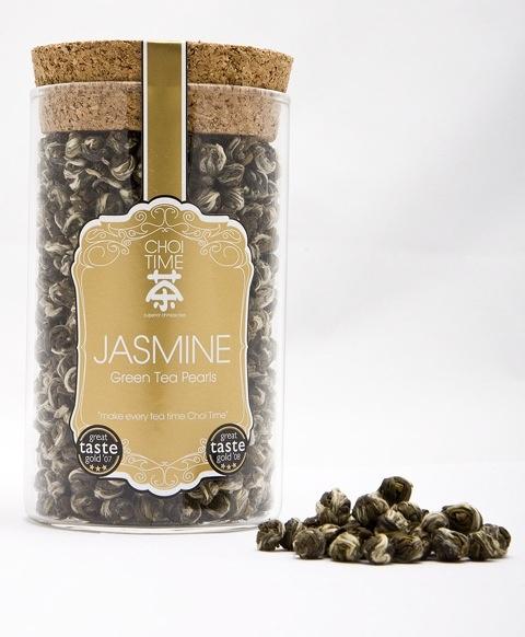 Jasmine Green Tea Pearls - Choi Time tea jar
