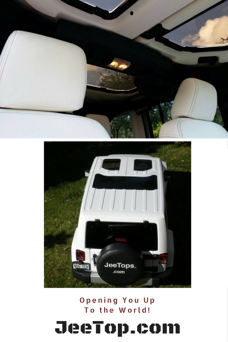 Opening you up to the world! JeeTops! http://www.jeetop.com  #Jeep #Wrangler #JeepLife #JeepWrangler