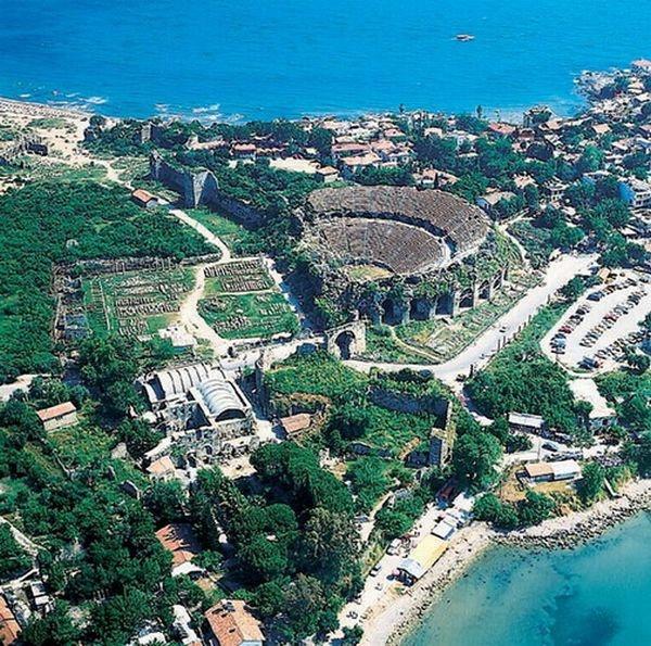 Antalya- The Ancient Aspendos Theater