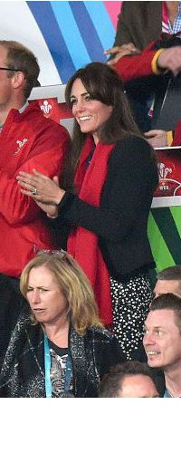 26 Sep 2015 - Duchess of Cambridge attends England V Wales Rugby World Cup match. Click to read more