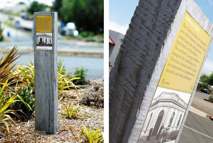 Winchelsea Heritage Trail Signage | Nuttshell Graphics Signalétique / bois