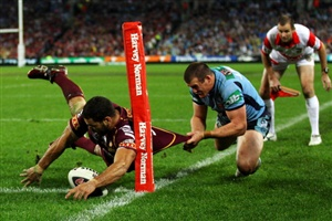 State of Origin Game 3 is not far away and it would not be a coincidence if Queensland centre Greg Inglis is once again the main talking point.