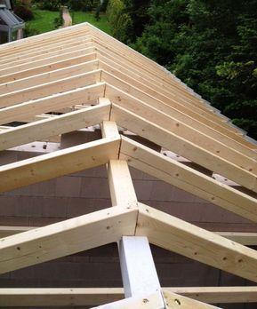 Gartenhaus Dachstuhl Bauen