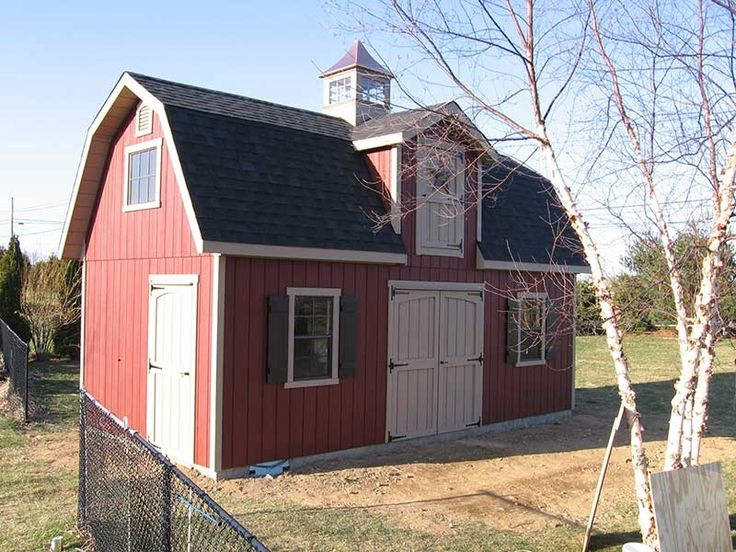 1000 ideas about barns sheds on pinterest small barn for Dutch barn shed plans
