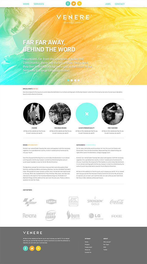 Venere® Hostess Agency - Branding and Web Design by Attila Horvath