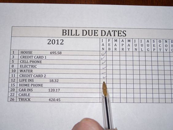 Bill Receipt Custom 1131 Best Diybillscalendarsfilespaperwork Images On Pinterest .
