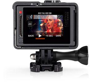 GoPro – Caméra HERO4 Silver/Music - vidéo de qualité professionnelle. Fixations…