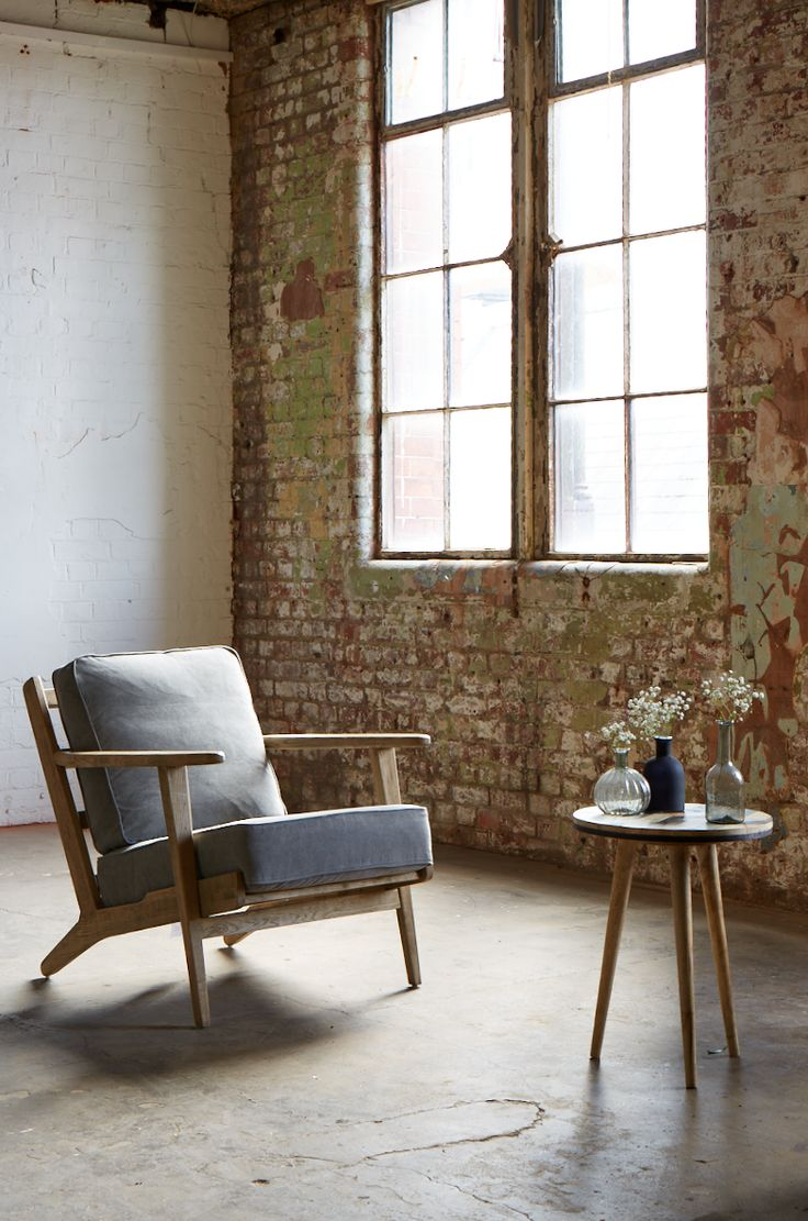LOFTY LIVING, Spring/Summer 2015. Featuring the Karla armchair and Herzen side table. SWOONEDITIONS.COM