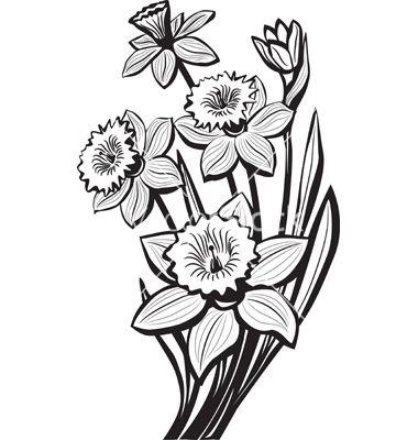 Small Bouquet Tattoo