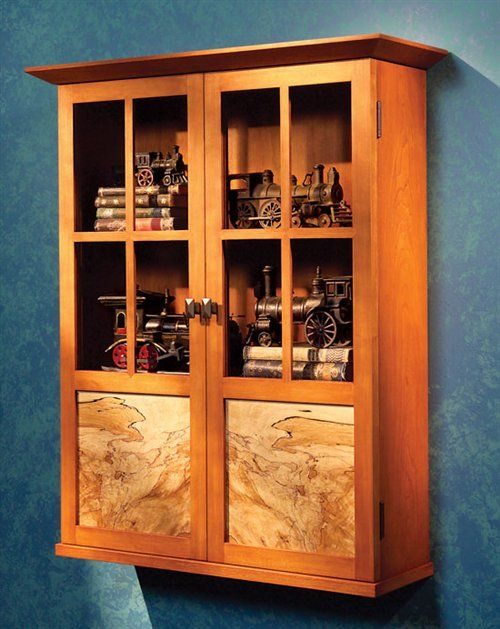 Aw extra modern mission cabinet woodworking projects for Planos de carpinteria
