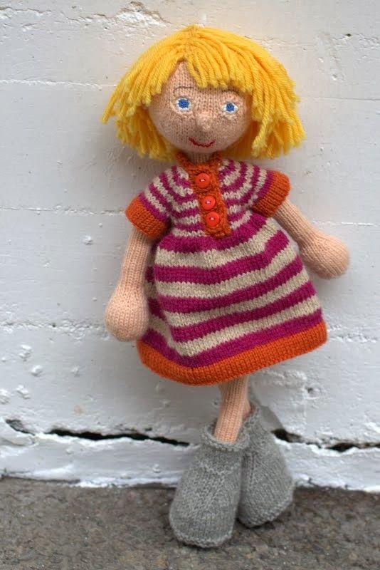 Maria strikker: Zerlina Arne & Carlos doll
