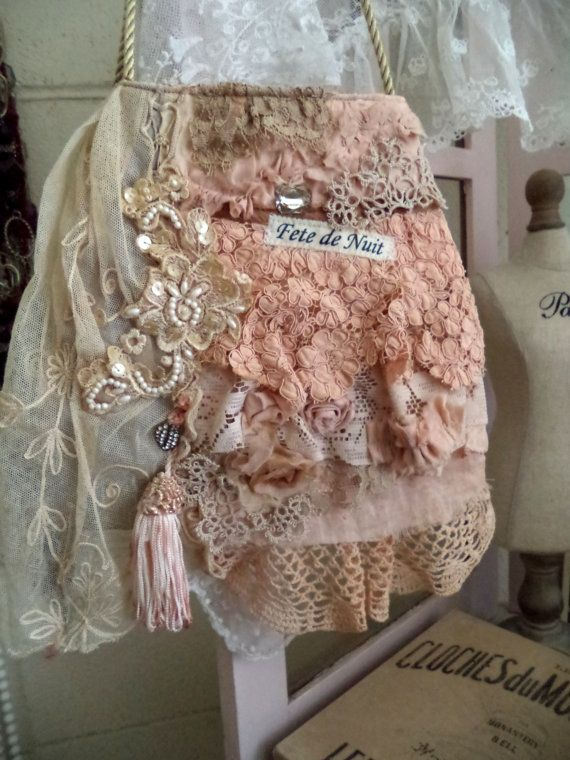 Fete de Nuit attic purse | Shabby chic, Style and Chic