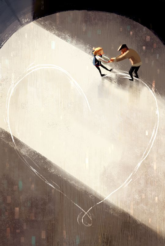 """len the pen! — we call everything on the ice """"love"""""""