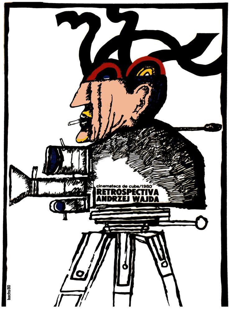 1008.Movie POSTER.Andrzej Wajda.Art Film Director.Home studio room design art | eBay