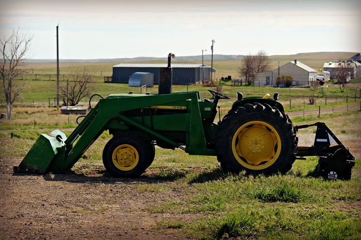 John Deere 1020 at the farm