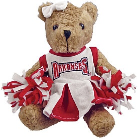 Arkansas Razorback teddy bear:  Teddy Bears, Hog Heavens, Hog National, Razorbacks Fans, Razorbacks Fever, Arkansas Hog, Arkansas Razorbacks Go, Razorbacks Teddy, Cheer Bears