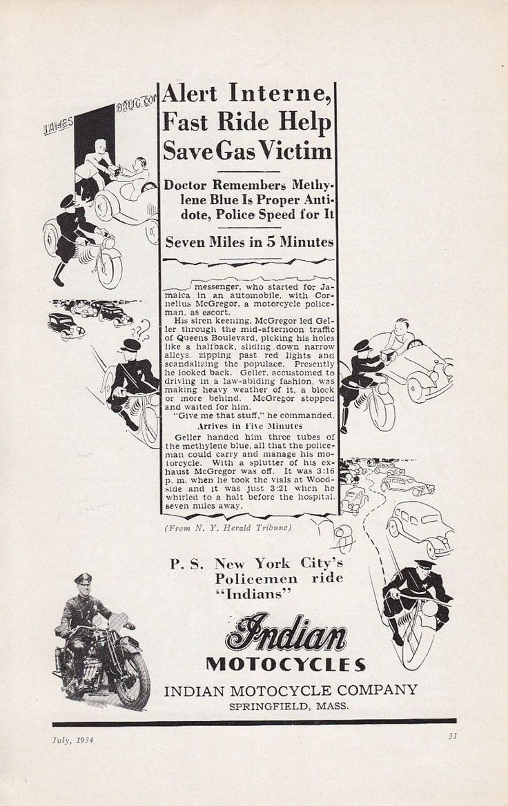 1934 indian motorcycle springfield ma ad new york city police ride indians transportation and. Black Bedroom Furniture Sets. Home Design Ideas