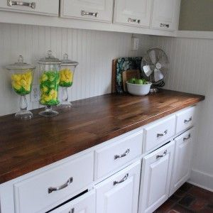 Menards Countertop Options : ... block countertops, Modern farmhouse and Concrete kitchen countertops