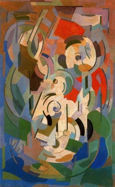 "Albert Gleizes, was a French artist, theoretician, philosopher, a founder of Cubism and an influence on the School of Paris. Albert Gleizes and Jean Metzinger wrote the first major treatise on Cubism, Du ""Cubisme"", 1912."