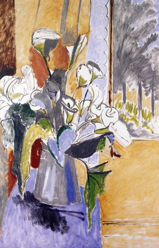 bofransson:  Bouquet (Arum Lilies)Henri Matisse - 1912