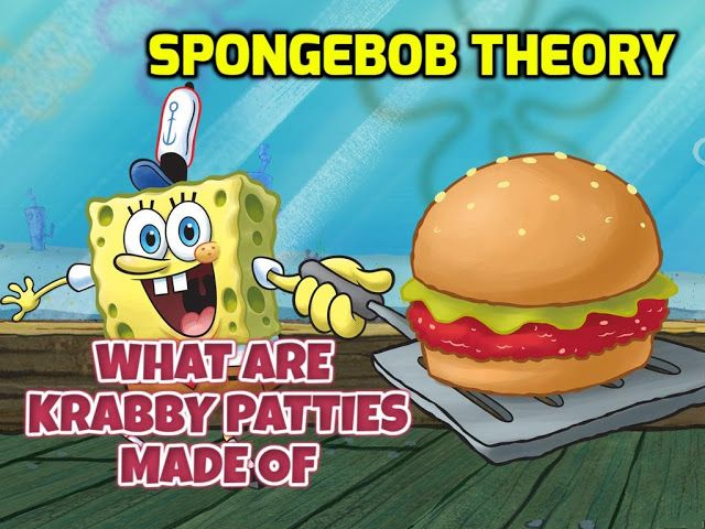 Spongebob Theory: what are KRABBY PATTIES made of