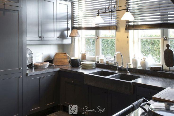 Żaluzje drewniane w kuchni. Żaluzje drewniane, POMIAR, MONTAŻ, Warszawa | GAMA STYL